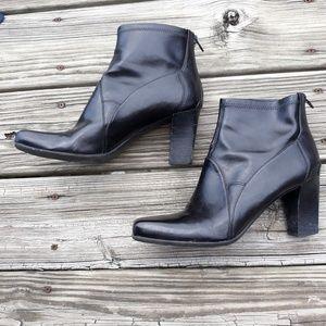 Franco Sarto Black Boots Size 10